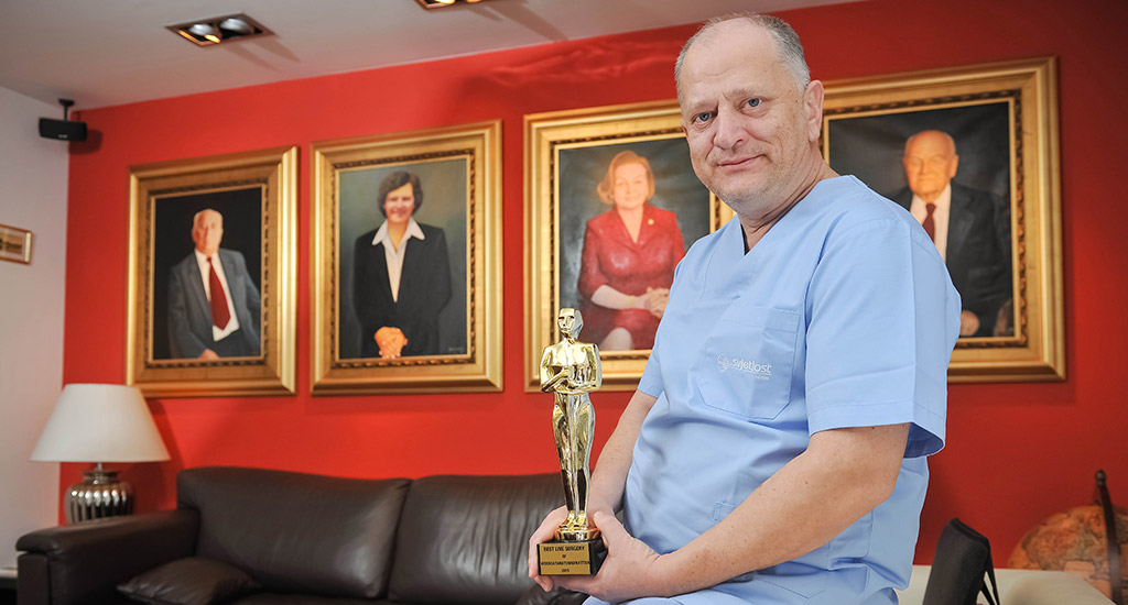 nikica gabric and clinic Svjetlost won an oscar